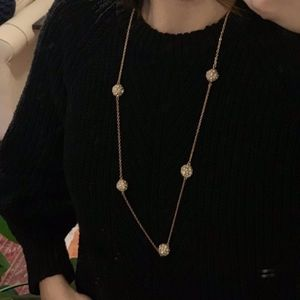 Kate Spade Gold Long Necklace